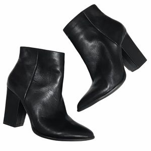 Le Chateau Leather Ankle Boots